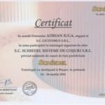 Certificat SCHIEDEL